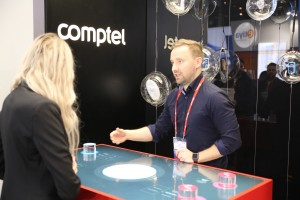 Comptel Multi-Touch Demo Wall